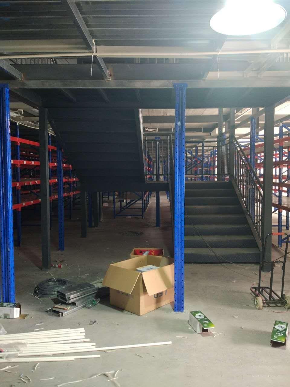 阁楼货架项目完工