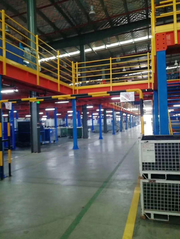 重型货架,阁楼货架,钢平台货架成功案例展架