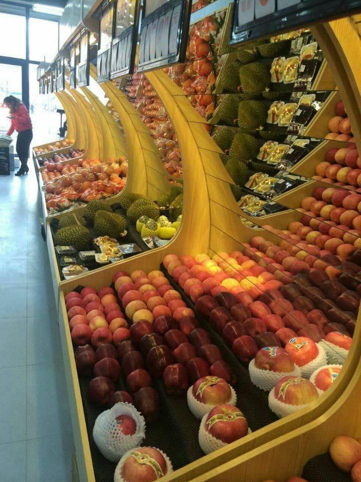 水果货架展架