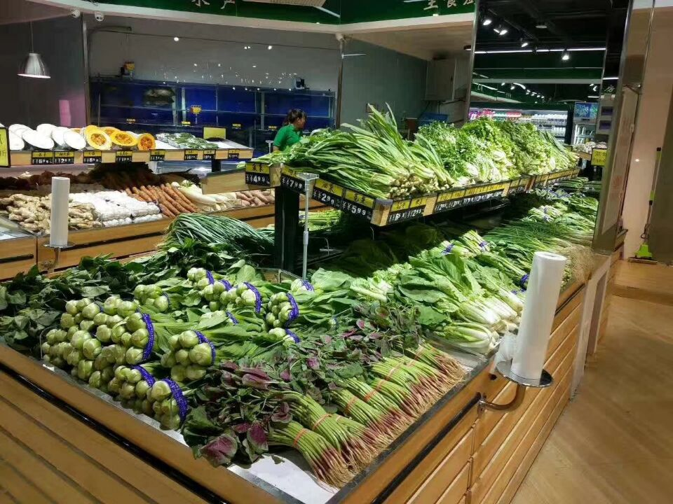 新款蔬菜水果展架